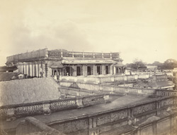 Poodoocottah [Pudukkottai]. View of the Palace